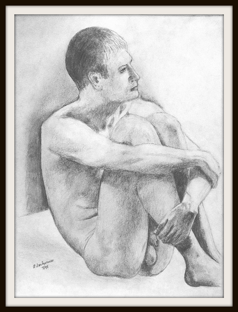 nude-seated-pencil-11-x-9